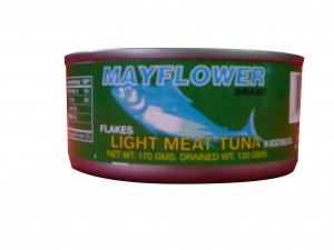mayflower tuna flakes in oil